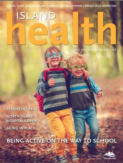 KIDCARECANADA in Island Health Magazine